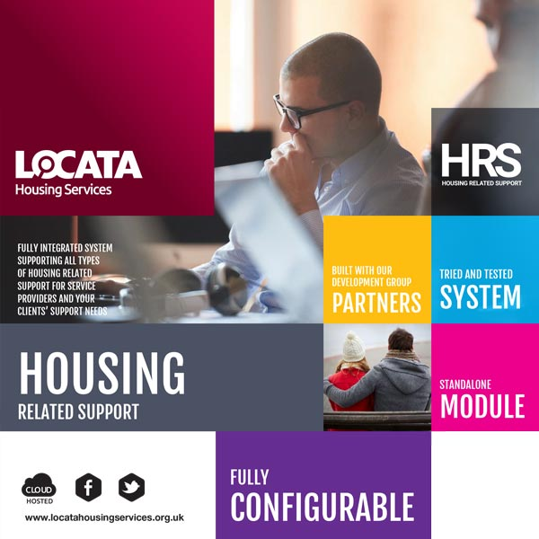 Locata Housing Related Support Brochure Cover