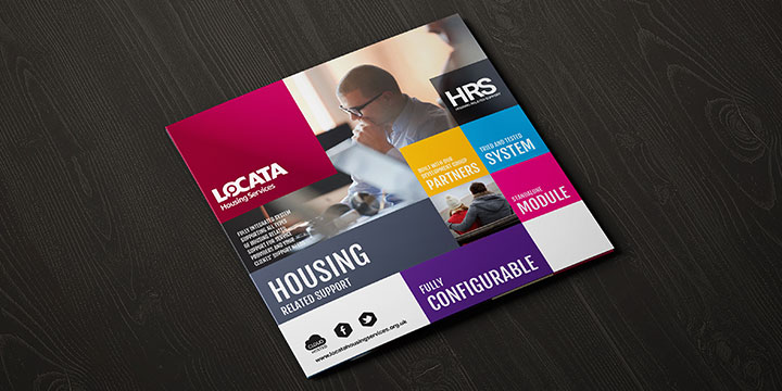 Locata HRS Brochure on a table